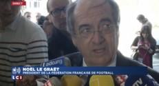 """Coupe du monde en Russie et Qatar : Noël Le Graët """"voit mal un changement"""""""