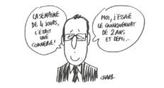 L'actu croquée par Charb.