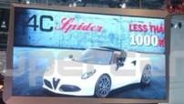 L'Alfa Romeo 4C Spider en image scoop au Salon de Genève 2014