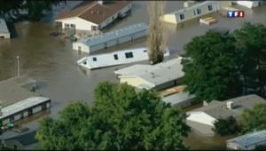 Le 13 heures du 14 septembre 2013 : Inondations : un bilan dramatique dans le Colorado - 206.23854662323