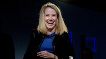 Marissa Mayer, patronne de Yahoo!, l&#039;une des femmes les plus en vue et puissantes de la Silicon Valley
