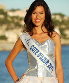 Miss Côte d'azur 2011 - Charlotte Murray - Election Miss France 2012