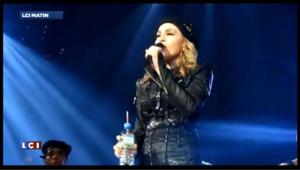 VIDEO – Madonna fait de l'humour et qualifie Obama de noir musulman