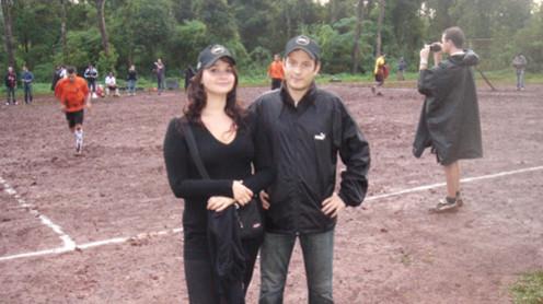 Alexandra Barda et Georges Gourbeillon, gagnants du jeu-concours Twilight Football organisé par Sony.