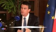 """Blocage des raffineries : """"L'Etat fait preuve de la plus grande fermeté"""" assure Valls"""