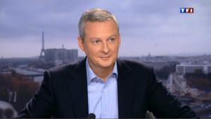 """Bruno Lemaire sur la compétitivité : """"les Français peuvent y arriver"""""""