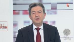Jean-Luc Mélenchon le 27 mars 2014 sur France 2.