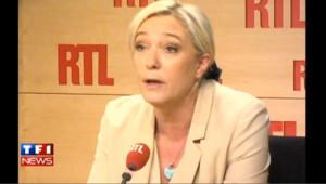 La réponse de Marine Le Pen à Dany Boon