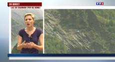 Le 13 heures du 5 juillet 2015 : Tunnel du Chambon : un pan de montagne menace de s'effondrer - 500