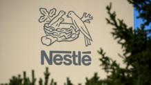 Le logo du géant agroalimentaire Nestlé