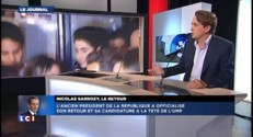 """Sarkozy """"est dans un combat pour l'instant contre Juppé"""""""