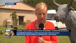 """100 jours à Matignon : Valls veut """"prendre le taureau par les cornes"""""""