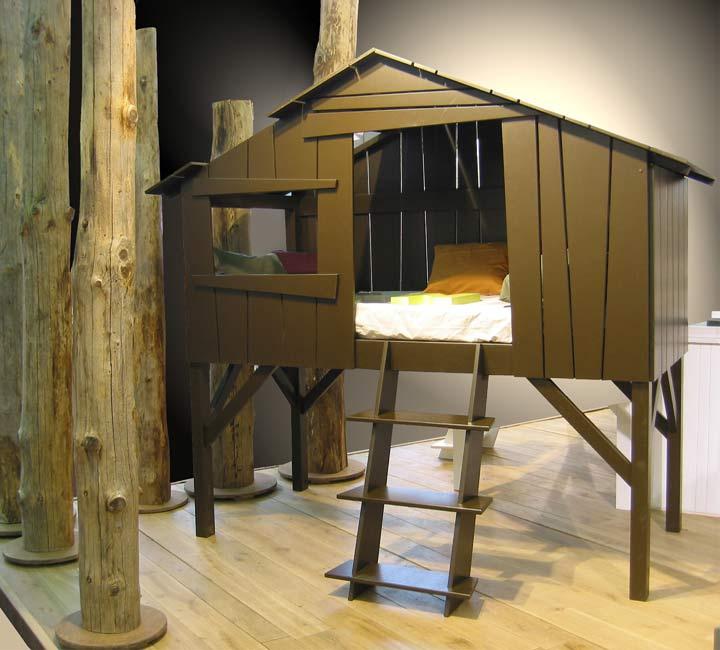 Le lit cabane pour enfant de mathy by bols news d co d co for Cabane dans la chambre