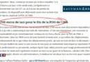 41.000 euros de frais de taxi : la facture salée de la président de l'INA