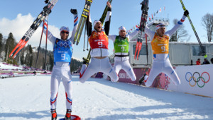 JO sotchi ski de fond médaille