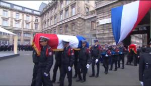 Le 13 heures du 13 janvier 2015 : Immense émotion à Paris pour la cérémonie d'hommage aux policiers assassinés - 47.71