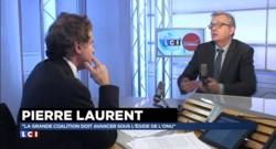 """Régionales : Pierre Laurent dénonce """"la banalisation du discours"""" du FN"""