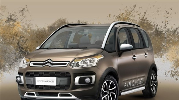 Photo 1 : C3 Picasso Aircross : l&#039;aventurier chevronn