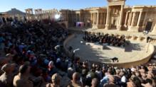Concert symphonique donné à Palmyre, le 06/05/16