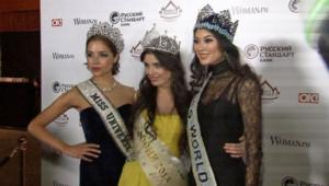 Elle est devenue Miss Russie