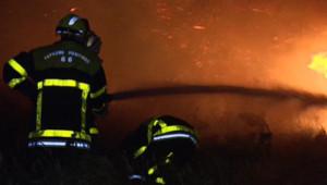 feu incendie brousailles Pyrénées-orientales