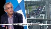 """Grève à la SNCF : s'il n'y a pas d'accord, """"on ne s'interdit rien"""" pendant l'Euro"""