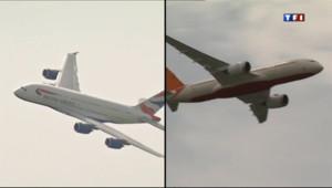 Le 20 heures du 19 juin 2013 : Salon du Bourget : duel commercial entre Boeing et Airbus - 1452.739