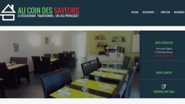 """Le restaurant """"Au coin des saveurs"""" à Quintenas, mis en vente sur Le Bon coin sans l'accord de son propriétaire."""