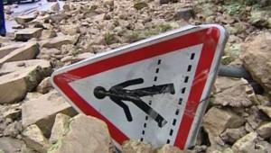 Les dégâts des intempéries dans l'Ouest, le 31 mai 2008