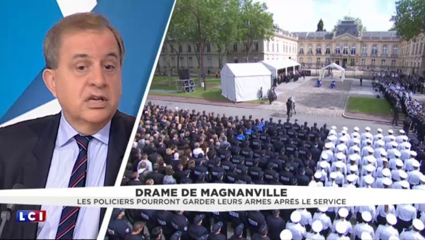 "Policier refusant de serrer la main à Hollande : Karoutchi ""comprend l'exaspération de la police"""