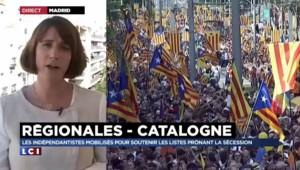 Grande manifestation indépendantiste à Barcelone