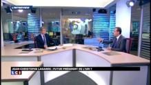 """Jean-Christophe Lagarde: """"Le centre a vocation à porter ses couleurs à la présidentielle"""""""