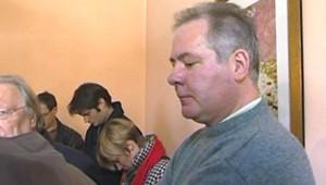 José Laboureur, professeur de Technologie à Berlaimont, lors de son procès pour avoir giflé un élève (25 juin 2008)