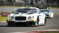 La Bentley Continental GT3 victorieuse à Silverstone lors des Blancpain Endurance Series en mai 2014
