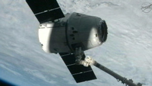La capsule Space X est arrivée sans encombre à l'ISS