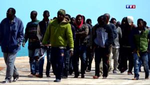 Le 20 heures du 16 avril 2015 : A la rencontre des clandestins réfugiés en sicile - 1064.7400000000002