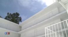 Los Angeles : un motel entièrement peint en blanc par un artiste français