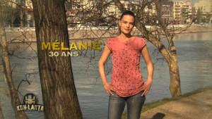 Mélanie - Concurrente Koh-Lanta Malaisie
