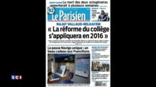 Revue de presse du lundi 31 août 2015 : un lycée de Gironde supprime les notes et instaure un code couleur