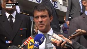 """""""Sofiane et Kevin ont été massacrés"""", affirme Manuel Valls"""