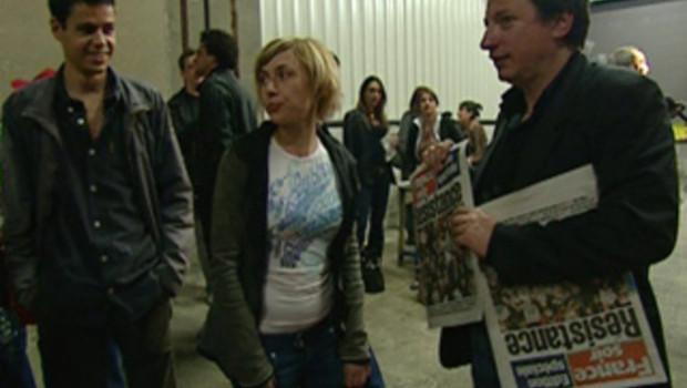 TF1/LCI Grève à France Soir