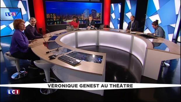 """Véronique Genest au Théatre : """"Je suis surtout ce qu'on me propose"""""""