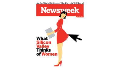"""""""Ce que la Silicon Valley pense des femmes"""", la Une de Newsweek"""
