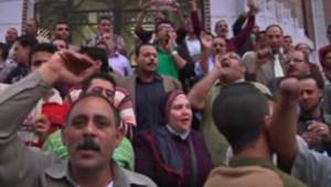 Egypte : manifestation au Caire contre le président Morsi, 27/11/12
