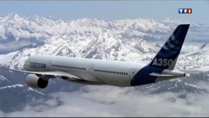 Le 20 heures du 14 juin 2013 : L%u2019A350, un avion con�pour rivaliser avec le Dreamliner - 258.15