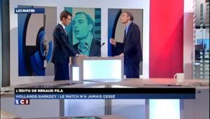 Le match Hollande-Sarkozy n'a pas cessé