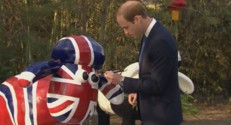 Le prince William en Chine le 2 mars 2015.