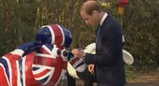 Le prince William en Chine le 2 mars 2015.