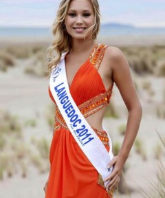 Miss Languedoc 2011 - Alison COSSENET - Candidate Election Miss France 2012