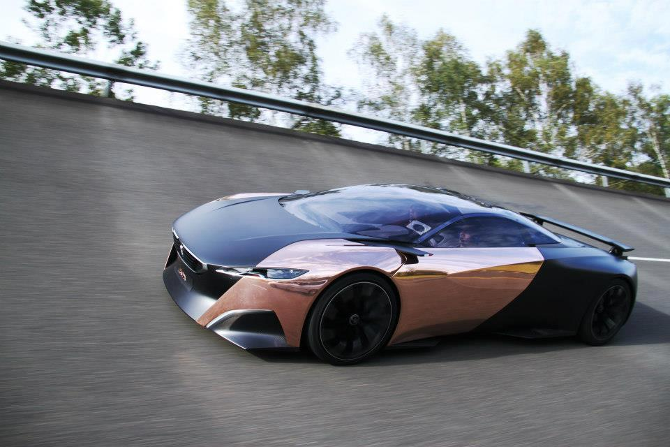 news automoto le peugeot onyx concept en essai sur circuit mytf1. Black Bedroom Furniture Sets. Home Design Ideas